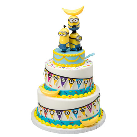 Despicable Me Minions Signature Cake Topper Decoration