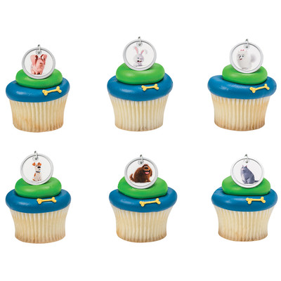 Secret Life of Pets Cupcake Rings 12pk