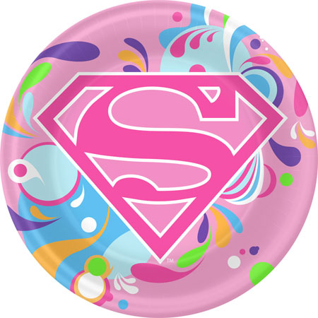 Supergirl themed party supplies party decorations and party favors
