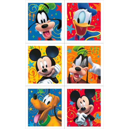 Mickey Mouse Playtime Stickers 4pk