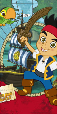 Jake and the Never Land Pirates Plastic Table Cover