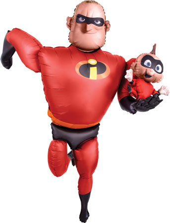 Incredibles 2 Mr Incredible Airwalker Balloon