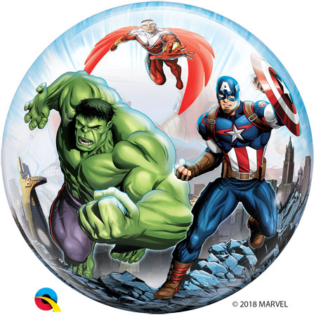 Marvel Avengers Bubble Balloon