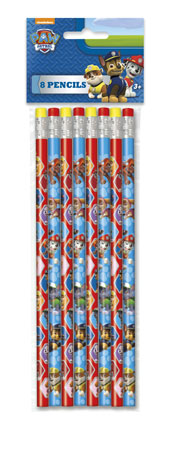 Paw Patrol Pencils 8pk