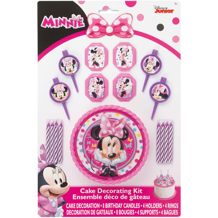 Minnie Bowtique Cake Decor Kit