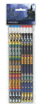 Harry Potter Pencils 8pk