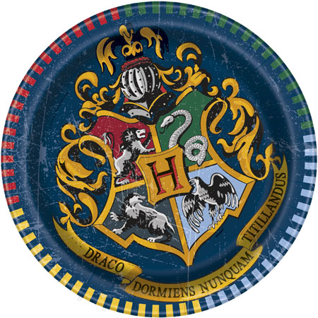 Harry Potter Dessert Plates 8pk