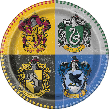 Harry Potter Dinner Plates 8pk