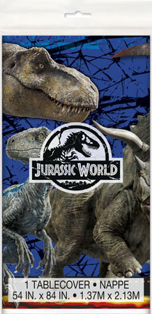Jurassic World Plastic Tablecover