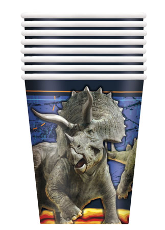 Jurassic World 9oz Cups 8pk