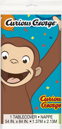 Curious George Plastic Tablecover