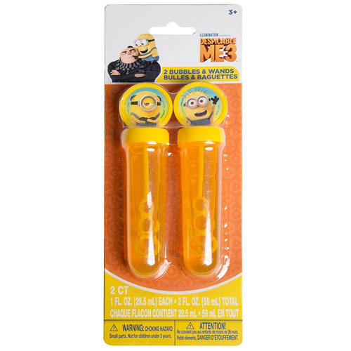 Despicable Me Bubble Wands