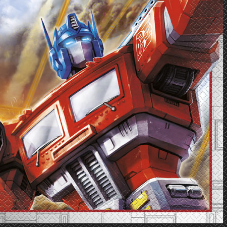 Transformers Lunch Napkins 16pk