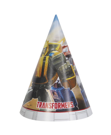 Transformers Party Hats 8pk