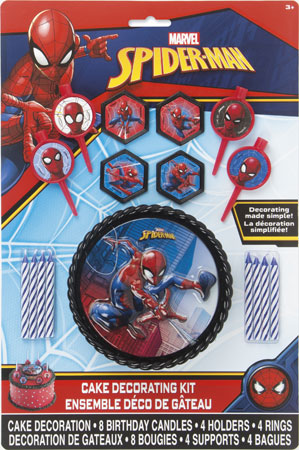 Spider-Man Cake Decor Kit