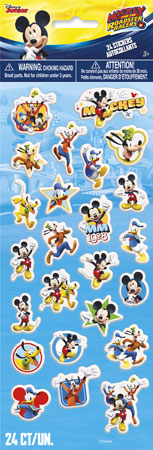 Mickey Mouse Roadster Racers Puffy Stickers