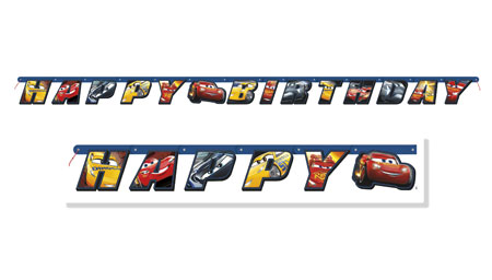 Disney Cars 3 Jointed Banner