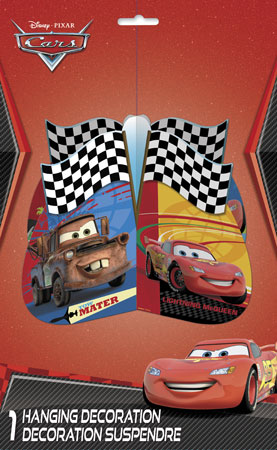 Disney Cars Hanging 3D Decoration