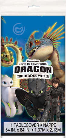 How to Train Your Dragon Plastic Tablecover