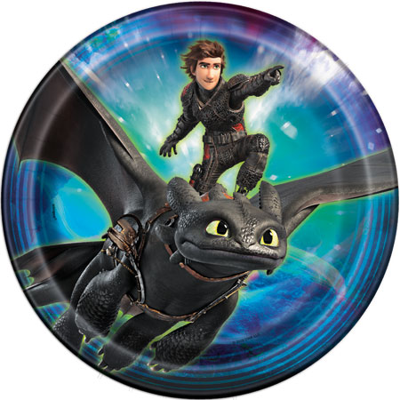 How to Train Your Dragon Lunch Plates 8pk