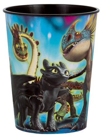 How to Train Your Dragon 16oz Plastic Cup