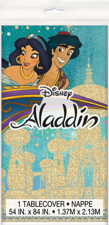 Disney Aladdin Plastic Table Cover