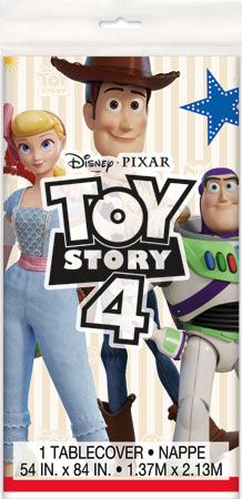 Toy Story 4 Plastic Table Cover