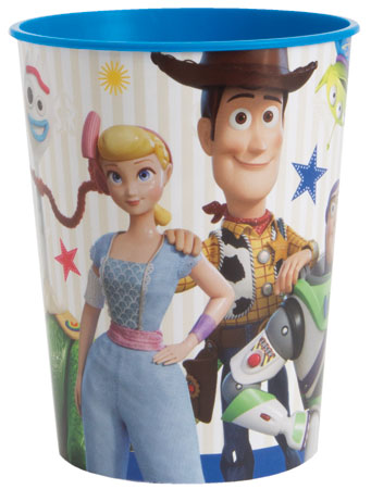 Toy Story 4 Plastic Stadium Cup 16oz