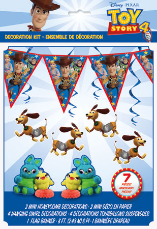 Toy Story 4 Party Decorating Kit 7pc