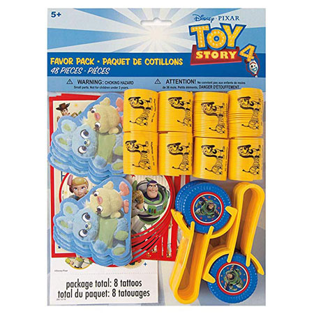 Toy Story 4 Favor Pack 48pc