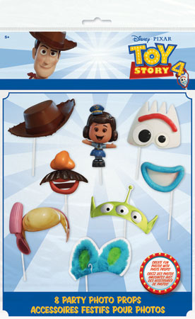 Toy Story 4 Photo Booth Props 8pc
