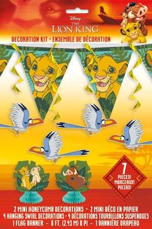 Lion King 7pc Decorating Kit