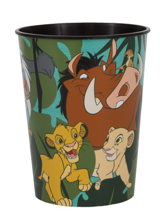 Lion King 16oz Plastic Souvenir Cup