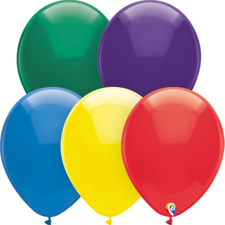 Latex Balloons Royal Rich Assortment